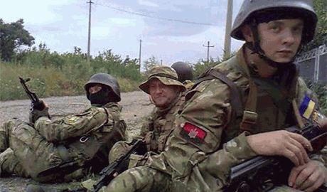 """Контрразведка """"Правого сектора"""" уничтожила диверсионно-разведывательную группу боевиков"""