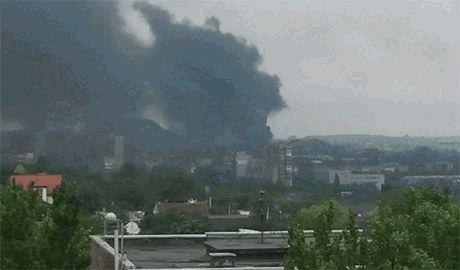 На химзаводе в Донецке произошел взрыв