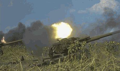 Украинские партизаны уничтожили целый артрасчет боевиков из четырех гаубиц