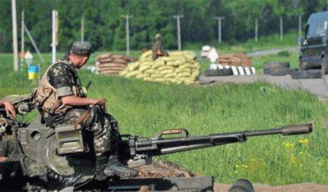 Силами АТО уничтожено более 30 террористов и много техники боевиков