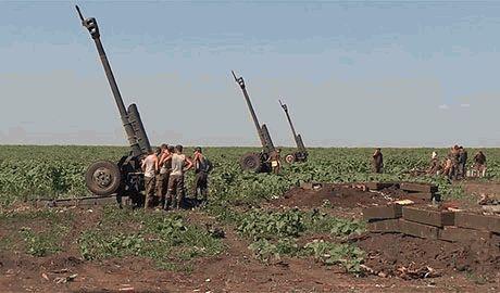 Похоже силы АТО готовят контрнаступление – на передовую прибывают свежие артиллерийские бригады