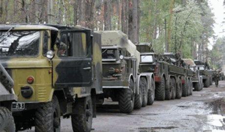 Прощай оружие! Силы АТО отводят тяжелое вооружение на 15 километровый рубеж от передовой