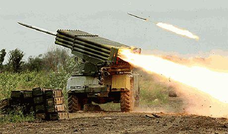 Дебальцево снова под огнем «Градов» и артиллерии террористов
