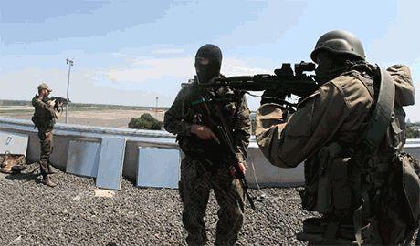 Донецкий аэропорт все еще под контролем сил АТО. Остатки гарнизона продолжают сопротивление