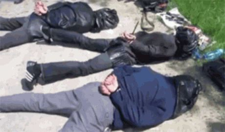 Диверсионную группу террористов в Мариуполе возглавлял майор милиции