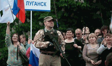 Боевики ЛНР проводят экономическую реформу: зарплаты и пенсии будут выплачивать в рублях по курсу «один к одному»