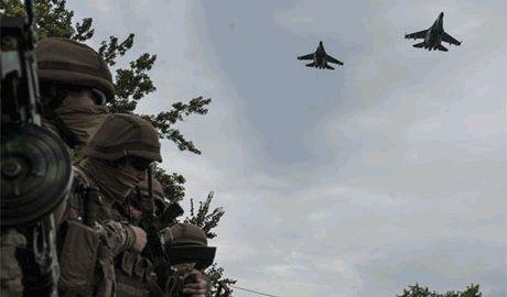 Украинская авиация поддержала огнем силы АТО под Мариуполем