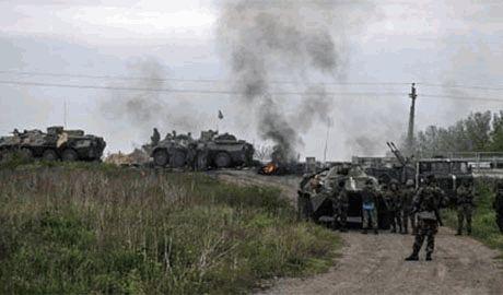 Разбитые российские войска выводят из Донбасса и перебрасывают свежие