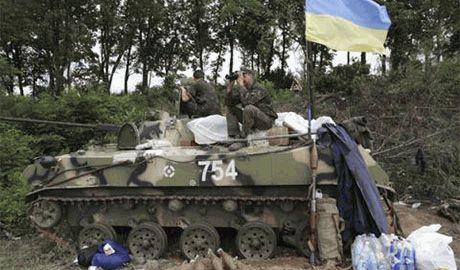 Террористы нарушили перемирие и обстреляли позиции 25 мех. бригады ВСУ, есть жертвы…