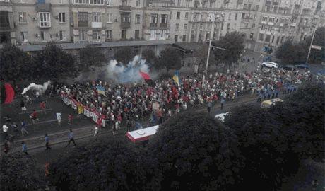В Запорожье футбольные ултрас подрались с переселенцами из Донбасса которым не «понравилась» песня о Путине