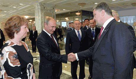 Порошенко рассказал когда и где он встретится с Путиным