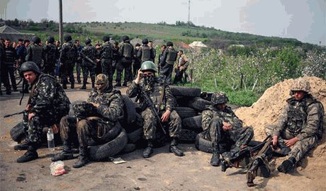 Силам АТО удалось сорвать штурм Дебальцево войсками РФ. Слухи об окружении и взятии города боевиками — фейк