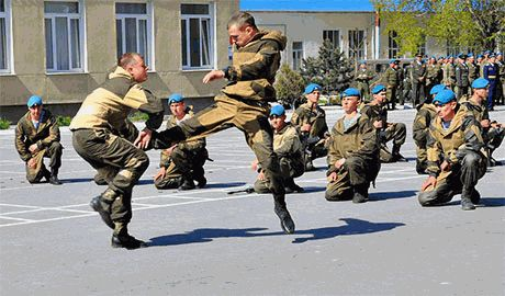 """Пока российские десантники гибнут на Донбассе, 76-ая карательная дивизия ВДВ армии РФ празднует """"юбилей"""" части"""