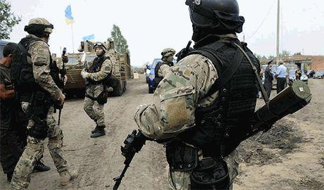Пограничники задержали большую группу диверсантов — СНБО