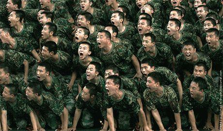 Что-то будет…Китай продолжает стягивать войска на границу с РФ