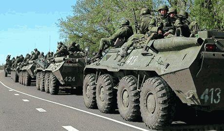 Через Красний Луч пройшли дві колони техніки з російськими військовими і найманцями – ІС