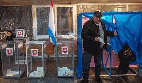 """Оккупационный режим Крыма назвал """"некомпетентными"""" заявления ЕС о непризнании выборов на полуострове"""