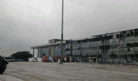 В аэропорту Донецка силы АТО уничтожили 18 спецназовцев из Омска, танк и БТР