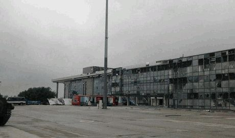 "Силовики оставили аэропорт ""Луганск"" – СНБО"