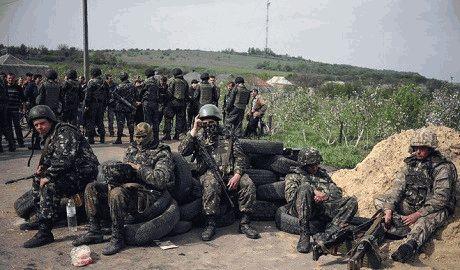 Под Дебальцево силы АТО уничтожили элитное российское подразделение морских пехотинцев