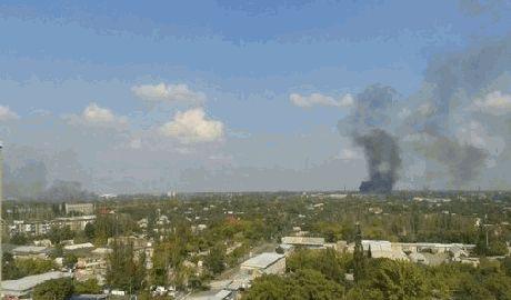 В Донецке возобновились ожесточенные бои ВИДЕО
