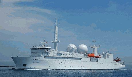 В Черное море вошел корабль-разведчик ВМС Франции