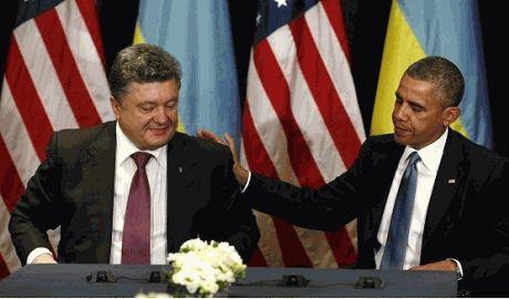 Порошенко и Обама договорились усилить давление на Путина