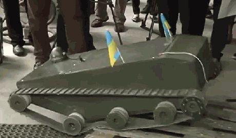 Во Львове создали робота-разведчика для украинской армии ВИДЕО