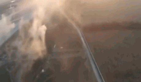 В сети появилось видео боя за донецкий аэропорт снятое с беспилотника