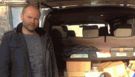 Неизвестный меценат передал киборгам в Донецкий аэропорт большое количество военной спецтехники
