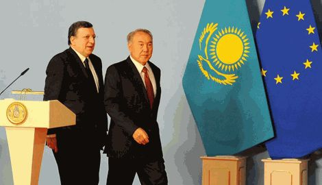 Казахстан начал движение на сближение с ЕС отдаляясь от России