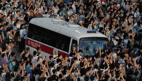 В Гонконге протестующие обещают начать захватывать здания с завтрашнего дня