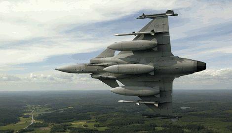 Украина может начать выпускать шведские истребители JAS-39 Gripen по лицензии