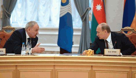 Путин вступил в словесную перепалку с лидером Молдовы на саммите СНГ