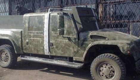 Авто Януковича вывозит с поля боя раненых бойцов в зоне АТО