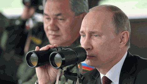 По результатам встречи с министром обороны Путин дал приказ отвести войска от границы с Украиной