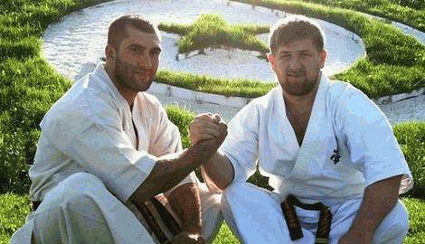 Рамзан Кадыров стал обладателем чорного пояса по карате