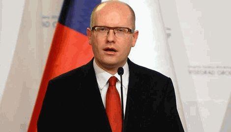 Глава правительства Чехии критически относится к возможности поставок оружия в Украину
