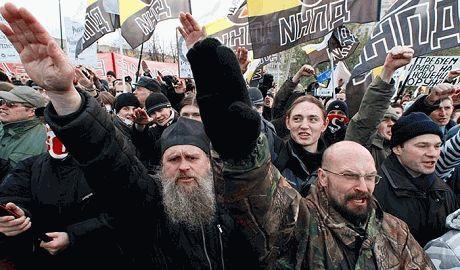 "Власти Москвы не разрешили провести ""Русский марш"""