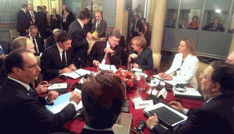 Начались переговоры в многостороннем формате. Борьба за мир на Донетчине продолжается, – пресс-секретарь Петра Порошенко
