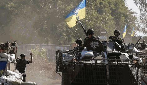 ВСУ разгромили силы террористов, что окружили один из блокпостов под н.п. Смилою