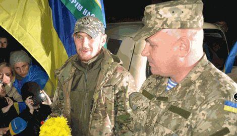 В Николаеве община встретила «Киборгов» с 79-й аэромобильной бригады
