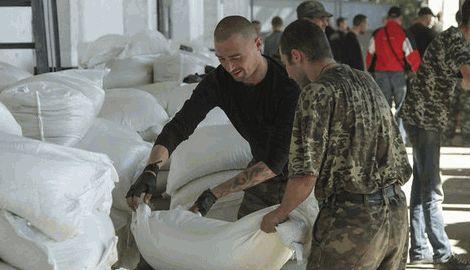 Власти Украины ввели запрет на продажу продуктов изготовленных в зоне АТО