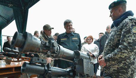 Порошенко заявил, о начале изготовления украинских тепловизоров и приборов ночного видения