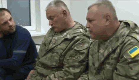 """Командиры добровольческого батальона """"Днепр-1"""" провели беседу с лидером одной из группировок боевиков, Алексеем Мозговым"""
