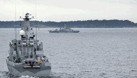 Швеция готовится применить оружие против иностранной субмарины, что находится в экваториальных водах страны