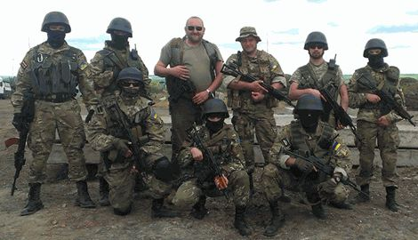 """Как казаки из """"Правого сектора"""" в добровольческий батальон """"ДНР"""" записывались"""