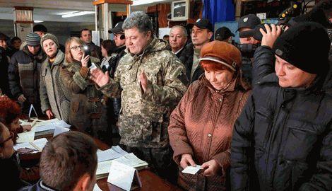 Порошенко проголосовал за европейский выбор Украины