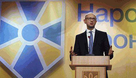 Новый Кабмин и коалиция ето ключевое требование для украинского общества – Яценюк