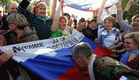 Принудительное гражданство  самопровозглашенной республики, в ЛНР выдают справки, удостоверяющие личность